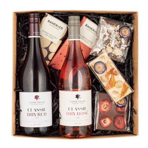 Wine and Chocolate Gift hamper
