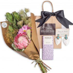 Boho Floral Posy Gift Hamper