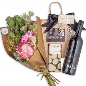 Whisper Floral Posy Gift Hamper